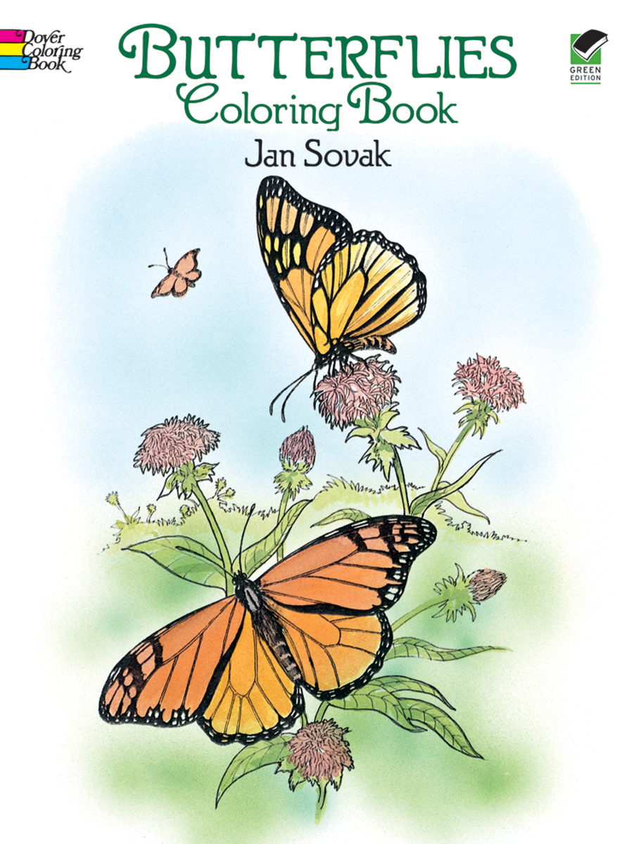 Dover Publications-Butterflies Coloring Book | Walmart Canada