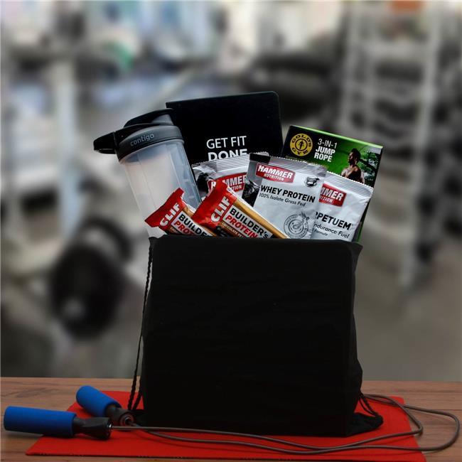 Gift Basket Associates 819912 Get Fit & Fitness Gift Set - image 1 of 1