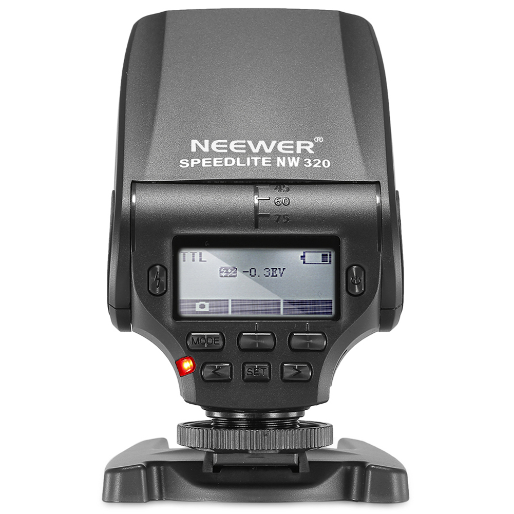 Neewer NW320 TTL LCD Display Flash Speedlite for Sony A7 ...