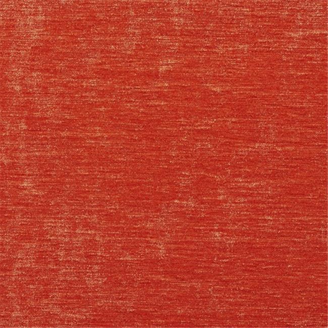 Designer Fabrics K0150F 54 in. Wide Bright Orange Solid Shiny Woven Velvet Upholstery Fabric