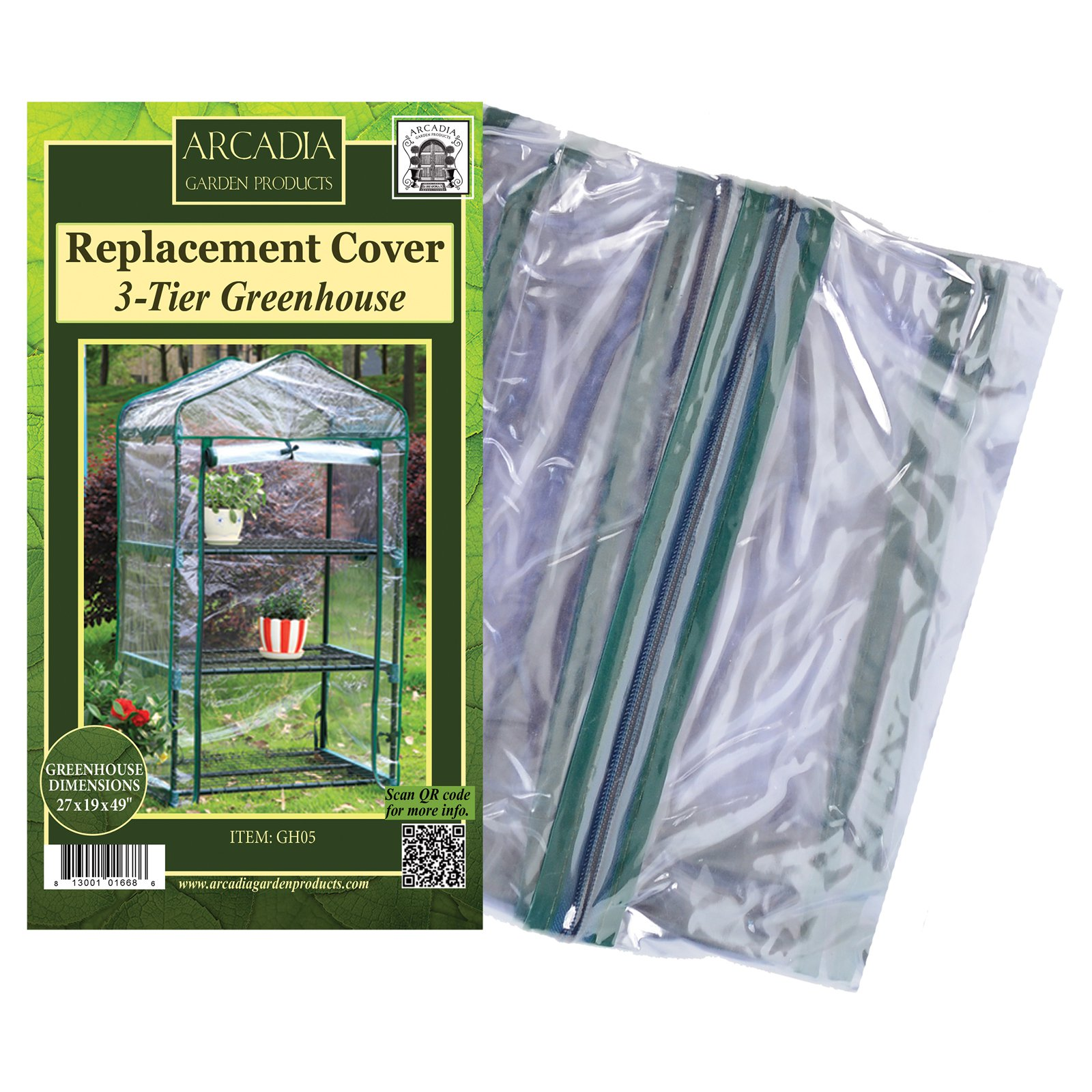 Arcadia Garden Mini Greenhouse Replacement Cover by Arcadia Garden Products