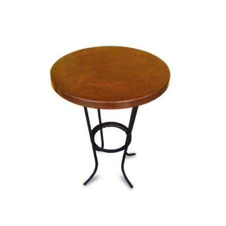 Copper Design CRTT-42-NW Copper Round Table Top, Natural Spots ()