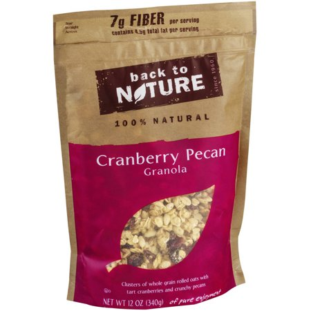 Back to Nature Cranberry Pecan Granola, 12 oz, (Pack of