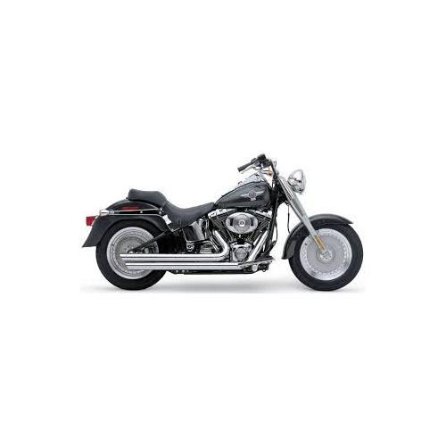 Cobra Speedster Exhaust Slash-Down Chrome Fits 12-13 Harley-Davidson Heritage Softail Classic Anniversary FLSTC
