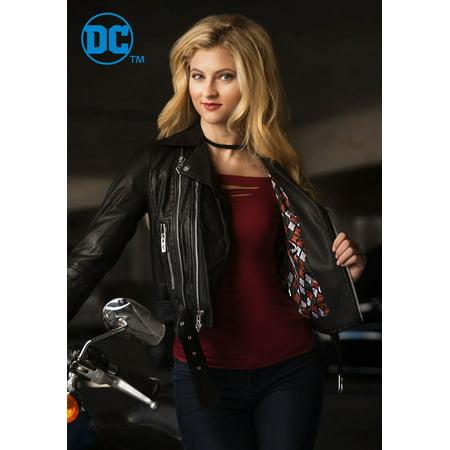 DC Women's Harley Quinn Moto - Harley Jacket