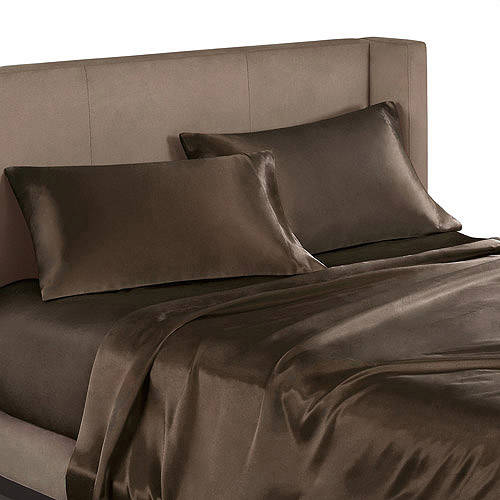 Mainstays Satin Sheet Set
