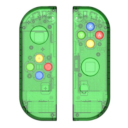 Replacement Housing Shell Case for Nintendo Switch NS Controller Joy-Con game console switch shell (Only Joy con shell Green)