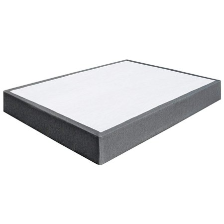 Queen Size 3000lbs Capacity 9 Inch Heavy Duty Metal Box Spring Mattress Foundation, Extra-strong Support & Non-Slip, No Noise, Easy Assembly