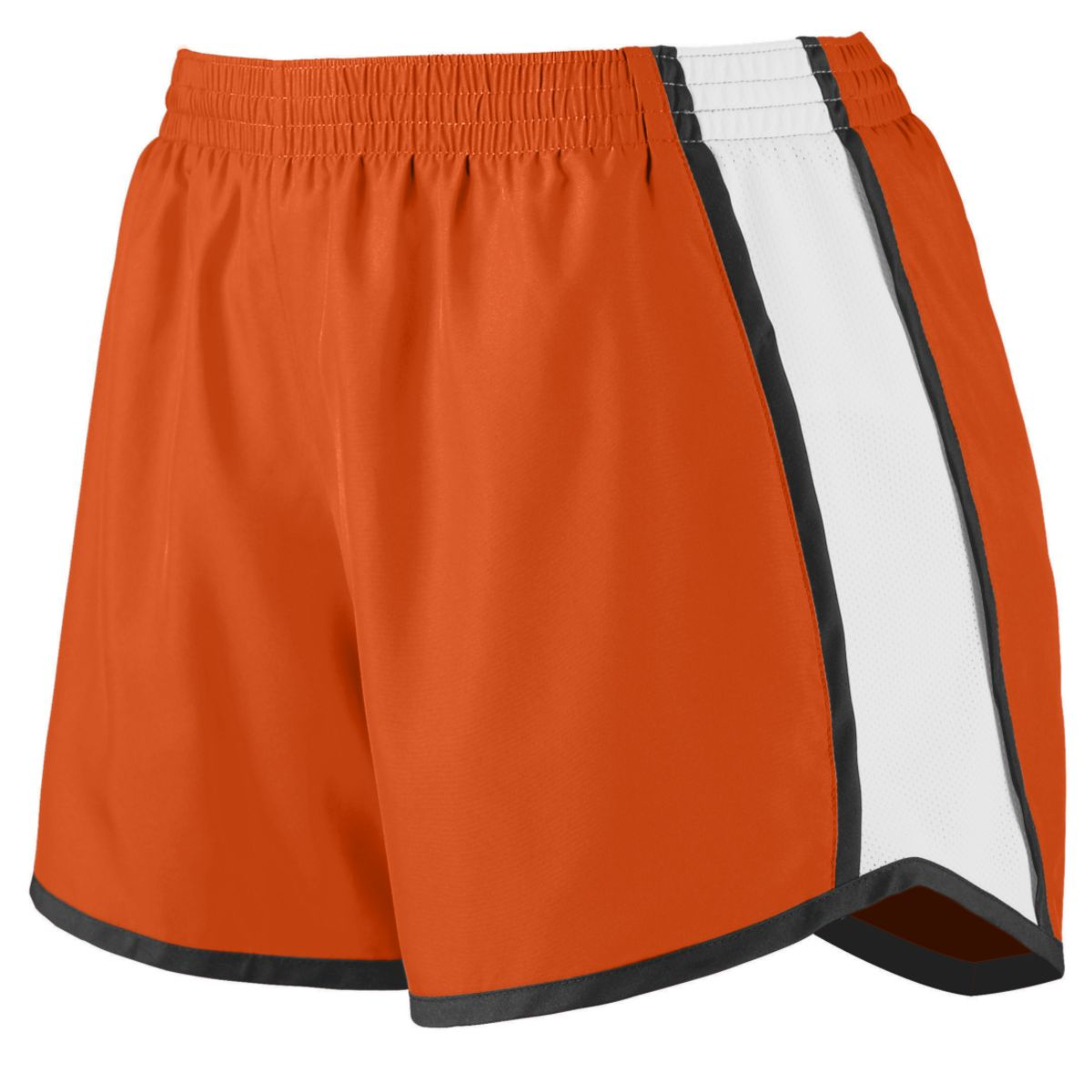 Augusta Lds Jr Fit Pulse Team Short Or/Wh/Bk L - image 1 de 1