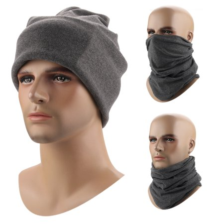 Windproof Warm Neck Hat Hiking Hunting Climbing Women Men Soft Neck Gaiter Face Mask Outdoor Sports Headgear Balaclava