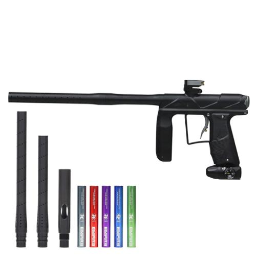 Empire Axe Pro Paintball Marker Gun w/ Super Freak Barrel Kit