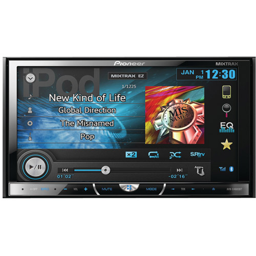 "Pioneer AVH-X4600BT DVD Receiver w  7"" Monitor Built in Bluetooth New AVHX4600BT by Pioneer"