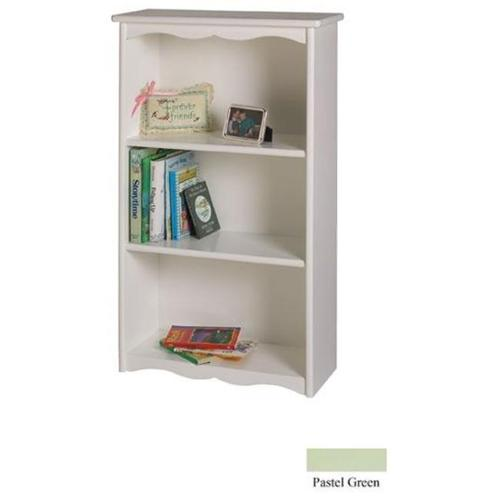 Little Colorado Traditional Bookcase, Pastel Green