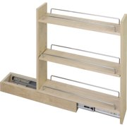 "Hardware Resources 10"" Base Cabinet Pullout Bpo10 Carton Of 1 Hard Maple"