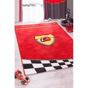 Cilek Champion GTI Racer Red/Yellow Area Rug