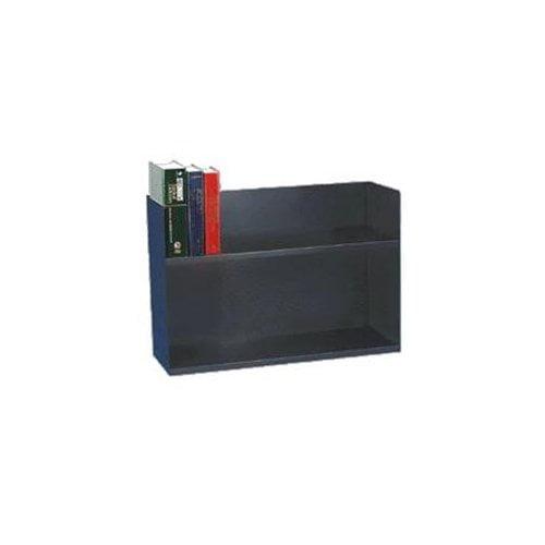 "Mmf Steelmaster Two Tier Book Rack 20"" Height X 29.1"" Width X 10.4"" Depth 2 Tier[s] Steel Black... by MMF"