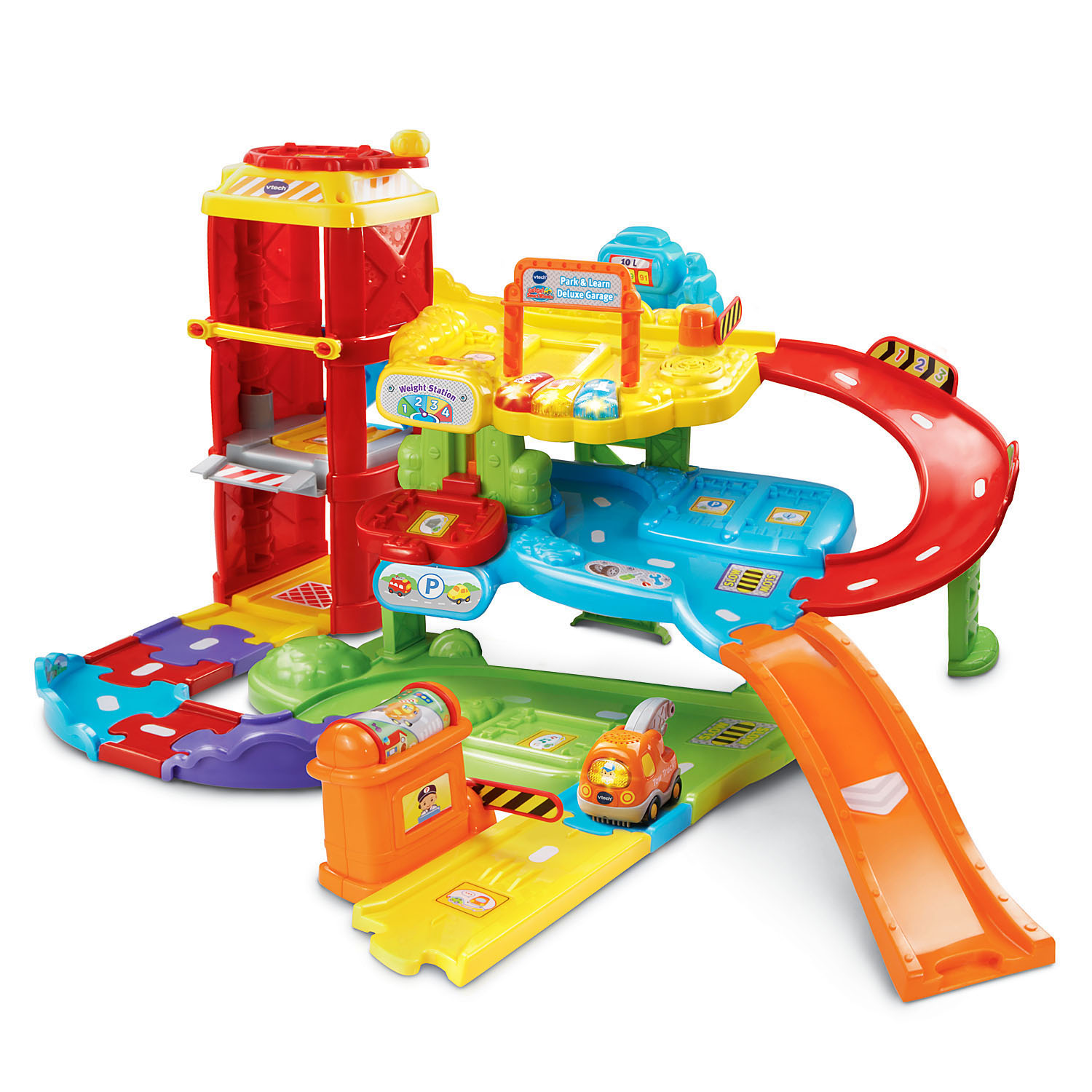VTech Go! Go! Smart WheelsPark & Learn Deluxe Garage by VTech