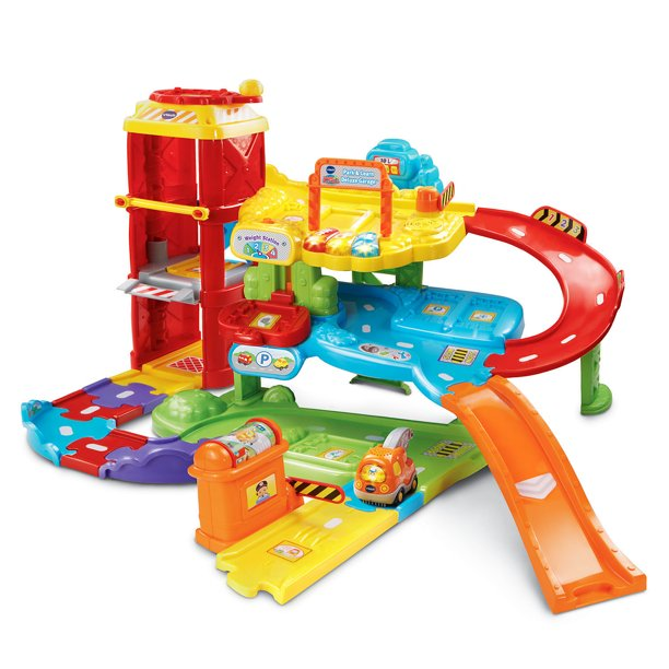 VTech Go! Go! Smart Wheels Park and Learn Deluxe Garage Playset