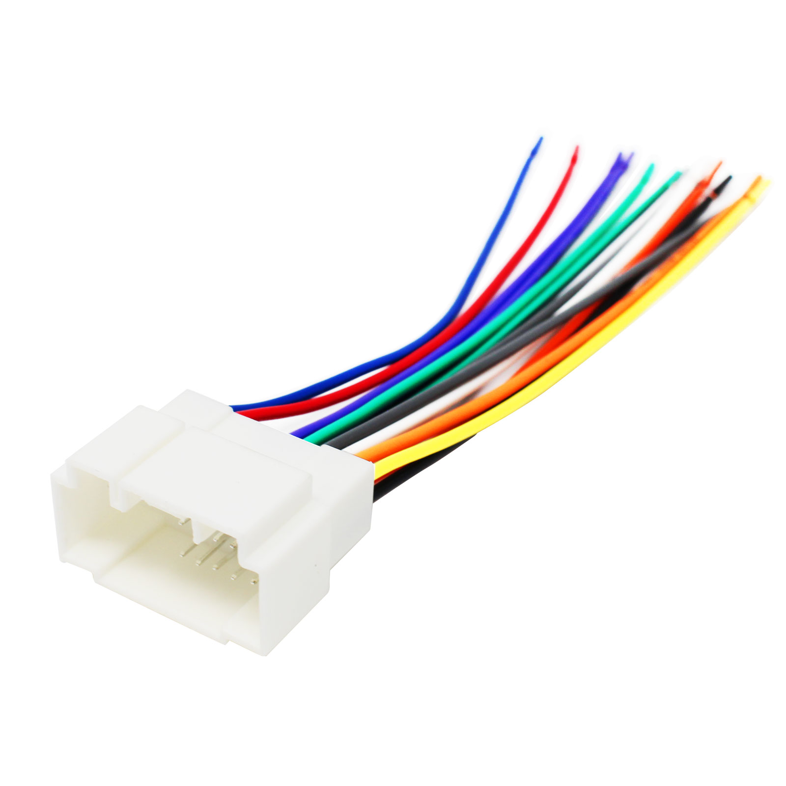 Replacement Radio Wiring Harness For 2002 Honda Civic Ex Coupe 2 Honda  Odyssey Stereo Wiring Diagram 2002 Honda Civic Radio Wiring