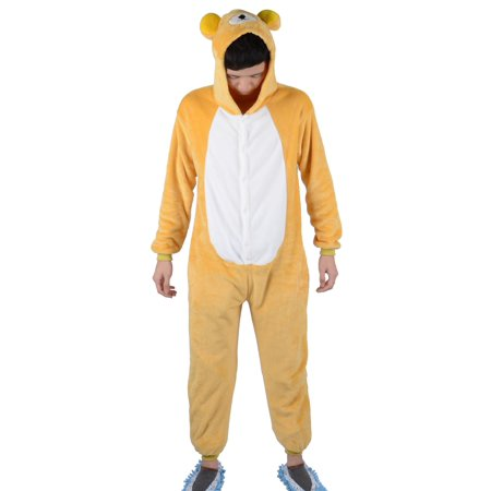 Adult Unisex Animal Sleepsuit Kigurumi Cosplay Costume Pajamas, M