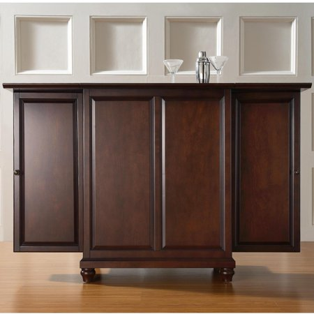 Crosley Furniture Cambridge Expandable Bar Cabinet Walmart Com
