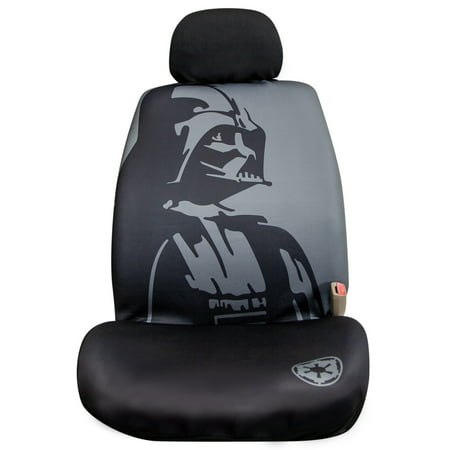 Seal Head (Star Wars™ Darth Vader Low Back Seat Cover with Headrest Cover)