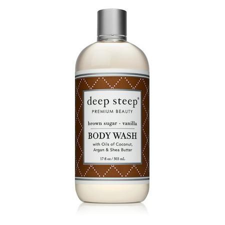 Deep Steep Brown Sugar Vanilla Body Wash