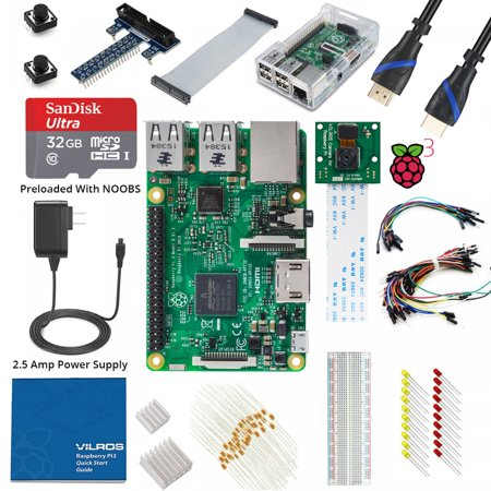 Raspberry Pi 3 Ultimate Camera Kit -- Incl: Pi 3 &