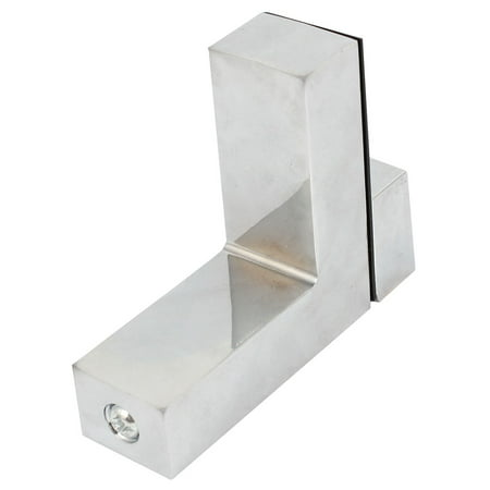 Stainless Steel Shelf Support Brackets for 8-10mm Thickness Glass Shelves