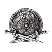 Alchemy Of England Men's War Band Belt Buckle Silver