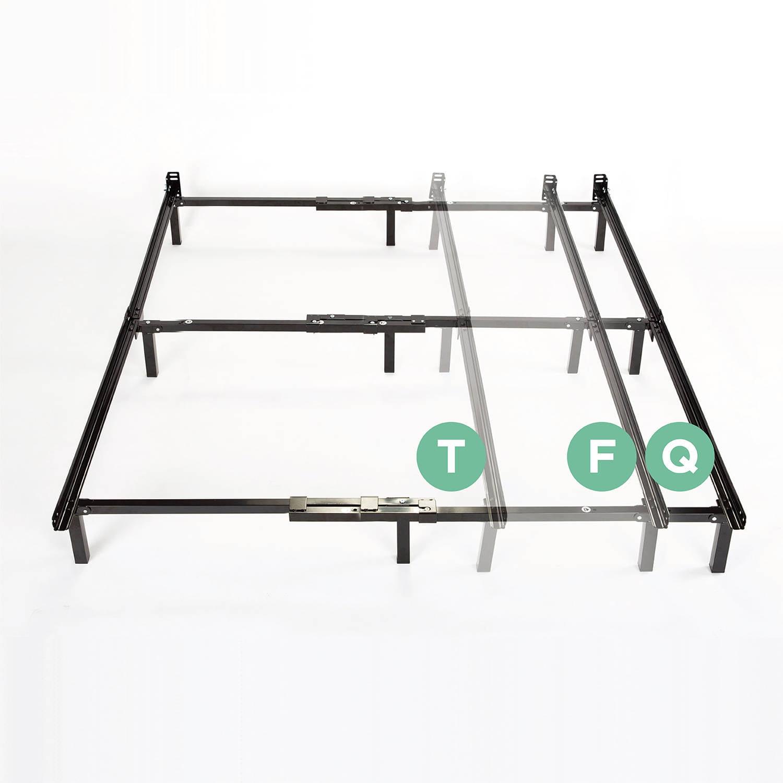 """Spa Sensations Compact 7"""" Adjustable Metal Bed Frame"""