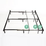 spa sensations compact 7 adjustable metal bed frame