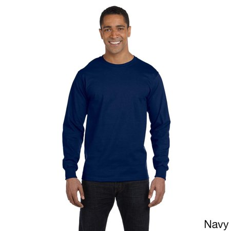 Gildan  Men's Dry Blend Fabric Long Sleeve T-shirt Blend Long Sleeve Tee