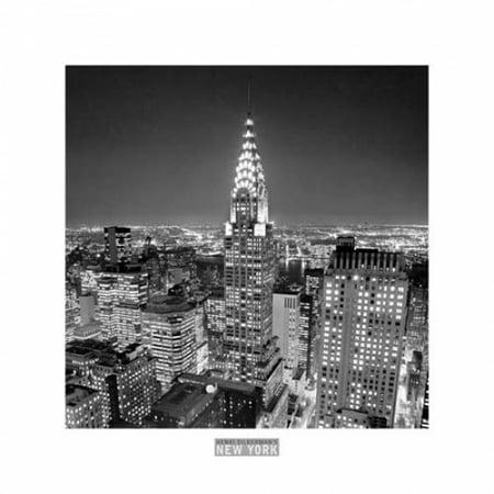 - Chrysler Building Poster Print by Henri Silberman (20 x 20)