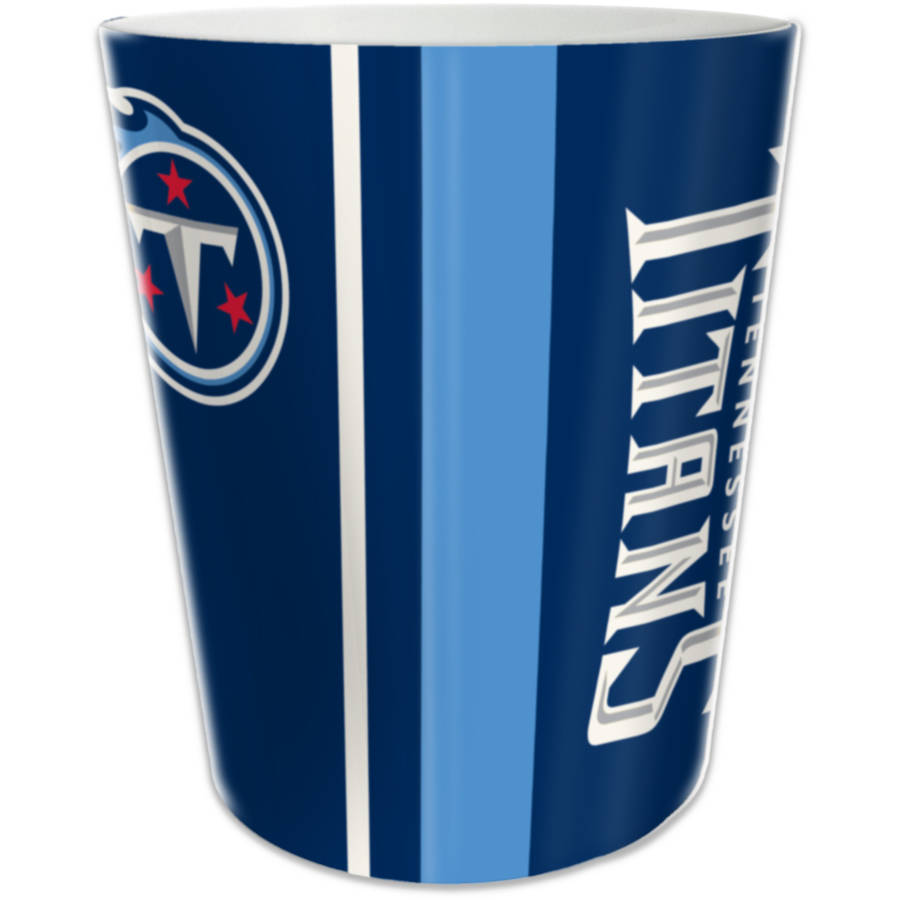 NFL Tennessee Titans Decorative Bath Collection - Wastebasket
