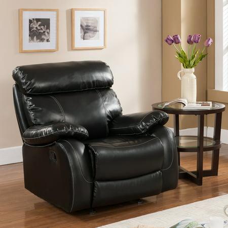 Primo International Penache Bonded Leather Upholstered Rocker Recliner ()