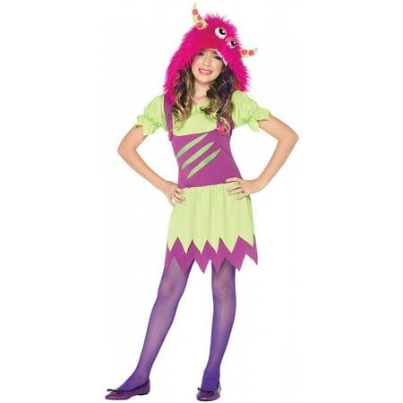 Fuzzy Wuzzy Wanda - Fuzzy Monster Costume