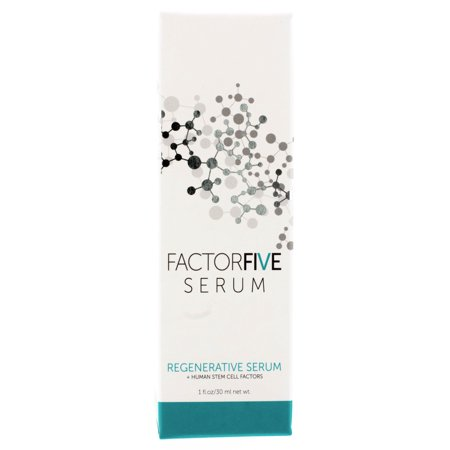 FactorFive Serum Regenerative Serum + Human Stem Cell 1oz/30ml AUTH