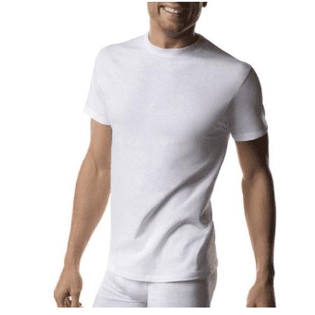Jockey Crewneck T-shirt - Men's Michael Jordan 6+1 BONUS PACK ComfortSoft White Crewneck