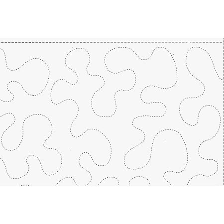 Stipples Made Easy Large Stipple Pattern 301 - 9.5 Inch By 26 Feet