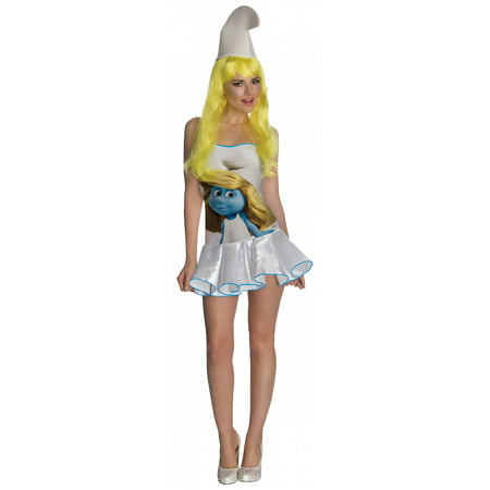Smurfs Sexy Smurfette Costume Dress Adult X-Small