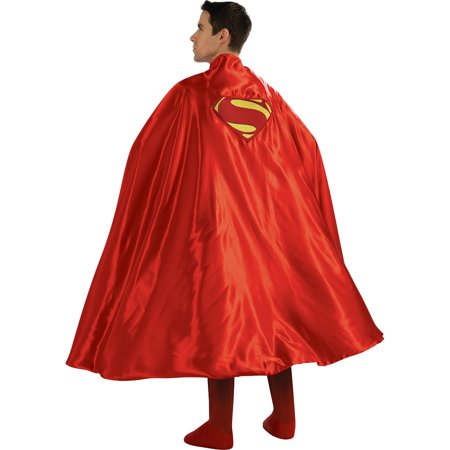 Adult Deluxe Superman Cape Costume Accessory