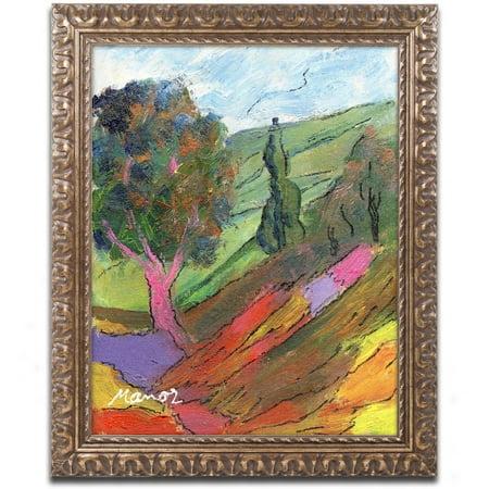 Hillside Framed (Trademark Fine Art