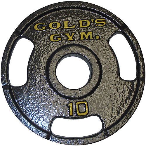 Gold's Gym Olympic Grip Plate, weights sets and bench,sports authority az mills