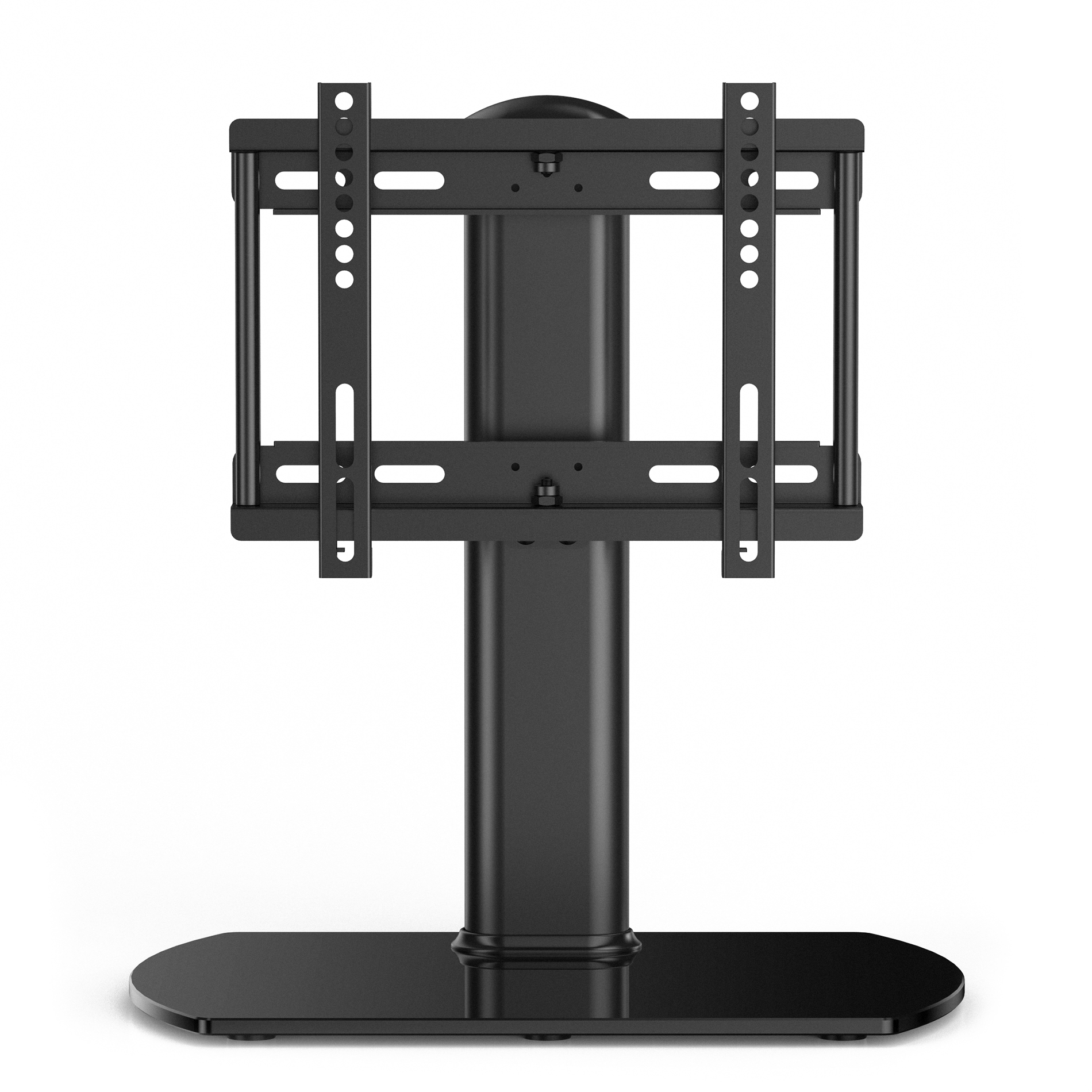 Fitueyes Universal Swivel Tabletop TV Stand Base With Mount For 27 To 37  Inch Samsung LG