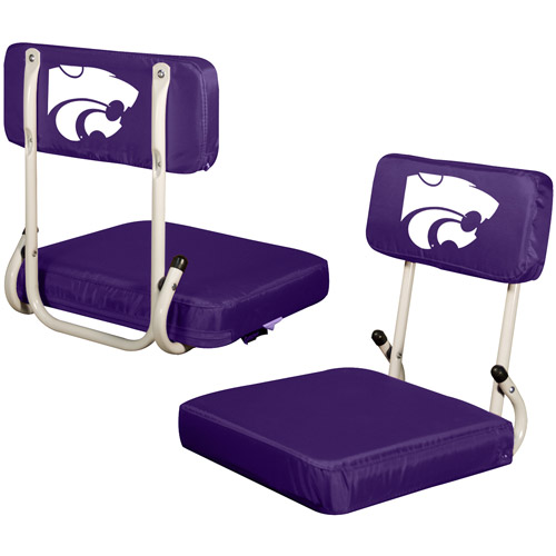 Logo Chair NCAA Kansas State Hard Back Stadium Seat