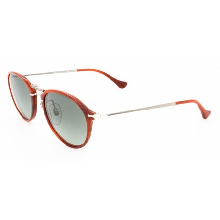 Persol Sunglasses PO3046 / Frame: Corrugated Brown Lens: Crystal Gradient gray (49mm)