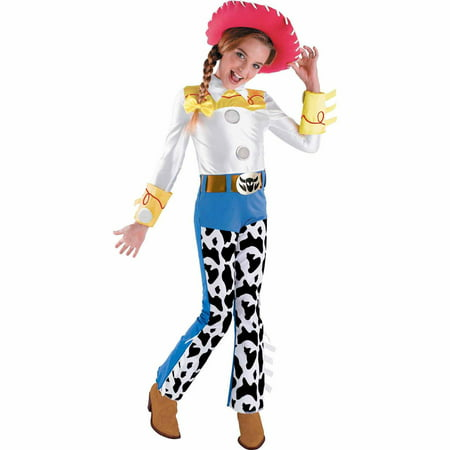 Disney Toy Story Jessie Deluxe Child Halloween Costume - Disney Deluxe Costumes