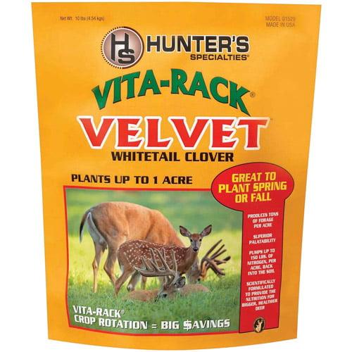 Hunter's Specialties Vita Rack Velvet Whitetail Clover, 10 lb