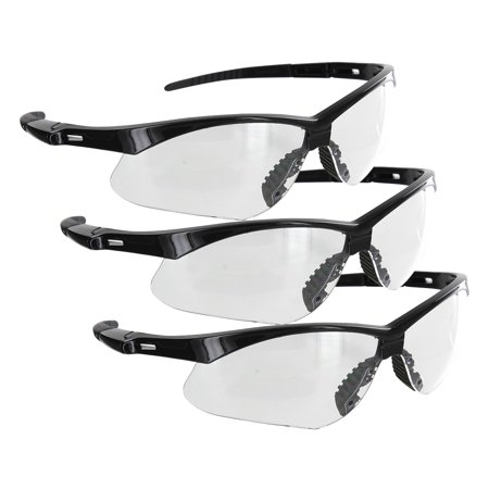 b46ab007ff2d Rugged Blue Mojave Safety Glasses - Clear Lens - 3PK - Walmart.com